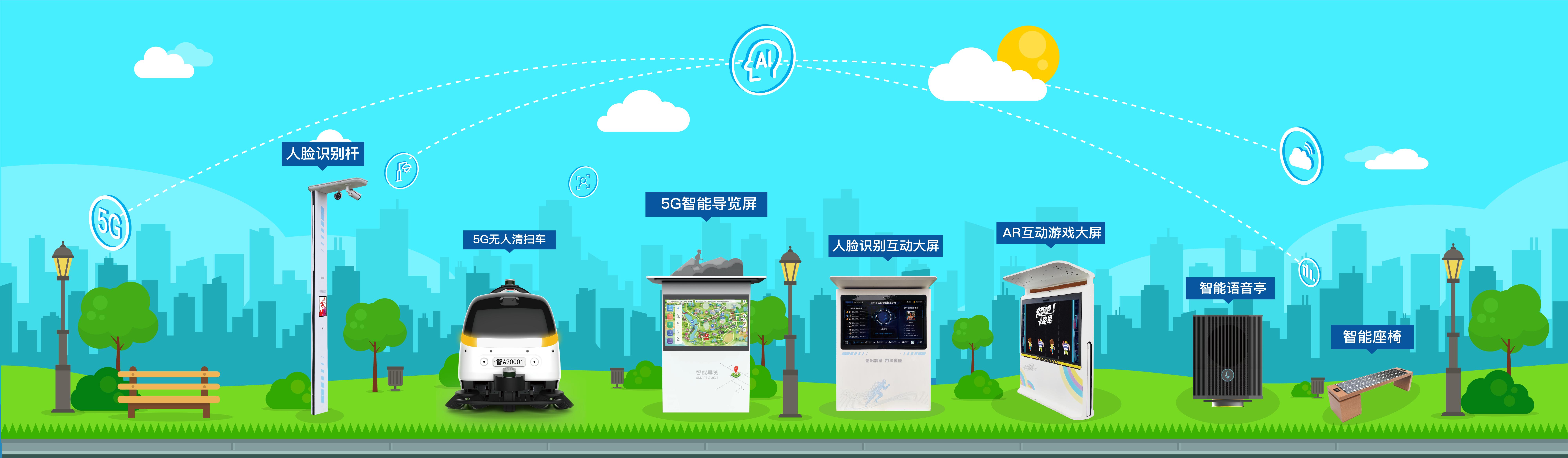 智慧服务-智慧服务设施-智慧服务解决方案-城基生态智慧公园