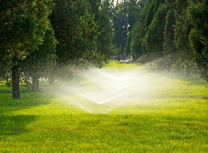 智能喷灌系统-智能灌溉系统-智能喷灌管理系统-城基生态智慧公园