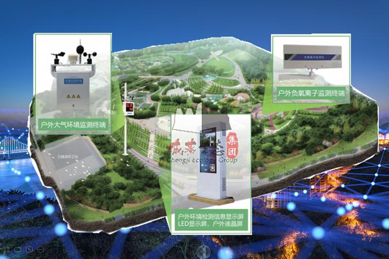 环境监测系统-空气监测系统-环境监测管理系统-城基生态智慧公园