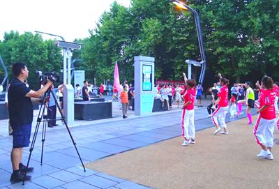智能广场舞-智慧广场舞-智能广场舞系统-城基生态智慧公园
