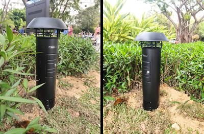 智能灭蚊灯-智能灭蚊机-城基生态智慧公园