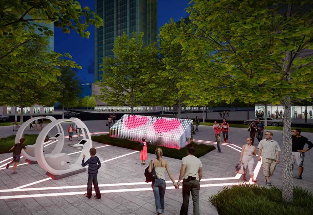 成都智慧公园-成都新华坊-城基生态智慧公园-城基生态项目案例